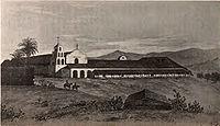 Misión San Diego de Alcalá 1848