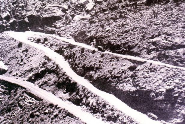 El Camino Nacional en 1923.